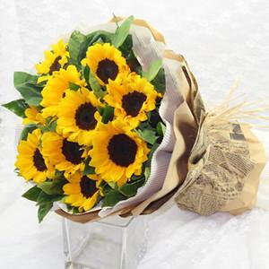 50 * 70cm Flower Embalagem papel corrugado papel artesanato artesanato crianças artesanais colorido DIY scrapbooking artesanato art art art arte gwf3957