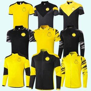 Survetement Tracksuits 2018 2019 2020 2021 Borussia Soccer Sets home away Dortmund tracksuit hoodies training football jacket set