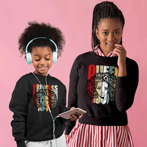 mommy and me Clothes family christmas sweaters mother daughter son matching outfits look new year kids hoodies clothing Mum Ma