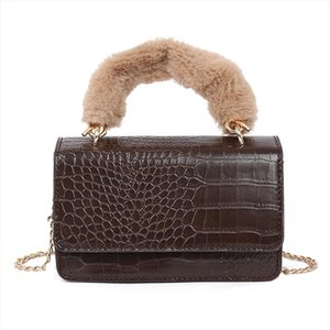 Stone Pattern Crossbody Bags For Women 2020 Fashion Small Solid Colors Shoulder Bag Flap Female Handbags and Purses
