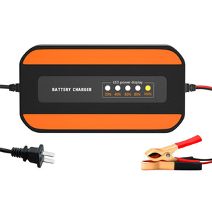 Portble Autobatterie-Ladegerät Starter Jump 100 V bis 240 V AC bis 12V 2A Automatische Intelligent Power Charging