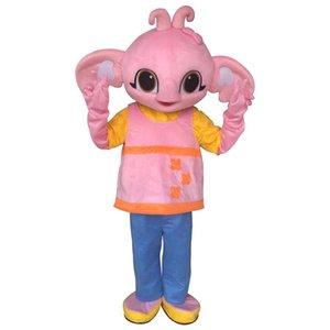2019 Discount Factory Sale Sula Mascotte Costume Bing Bunny Elephant Costume Mascot Fantaisie Robe de fantaisie pour l'événement de fête d'Halloween adulte