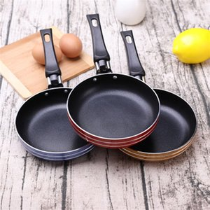Flat Bottom Frying Pot Fried Eggs Steak Mini Thickening Non Stick Cookware Multicolor Single Person Kitchen Practical Gadget 4 96jq J2