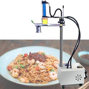 Commercial Rake hidráulico Ramen Noodle máquina de aço inoxidável Noodle Imprensa 220V 2500W Máquina