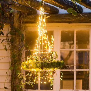 Solar Copper Wire Decorative Led String Lights Garland Fairy Lights for Room Lights Christmas Decor for Home Holiday Lighting