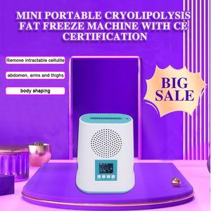 Sıcak satış Kore Kolay CE Sertifikası ile Mini taşınabilir soğutma pedi cryolipolysis Yağ Freeze makinesini kullanmak