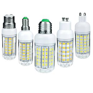 LED Corn Bulbs E27 E26 E12 E14 G9 GU10 B22 5730 SMD 50W Equivalent Bright Light Lamp 48leds