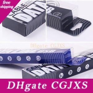 158 * 38 * 17 milímetros de plástico transparente Retail Box Embalagens para carregar Pacote Cabo USB Cabo Sob 3m Bag DHL frete grátis