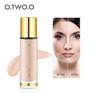 O.TWO.O Liquid Foundation Cover Invisible Pores Make Up Concealer Whitening Moisturizer Waterproof Makeup FoundationRabin