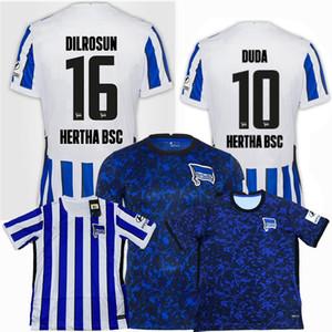 2020 2021 Hertha Soccer Jerseys BSC 20 21 Tousart Dilrosun Cunha Lukebakio Piatek home away football shirt S-2XL