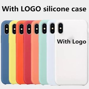 Original Have LOGO Silicone Case For iPhone 12 11 6 7 8 Plus X XS XR XS MAX 11 Pro Phone Silicon Cover For iphone 11Pro For Apple Retail Box