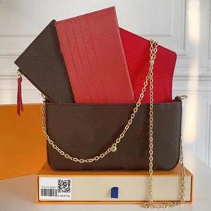 Um novo bolsa francês um designer mulheres luxurys designers bolsas 2020 clássico padrão mochila bolsa 211