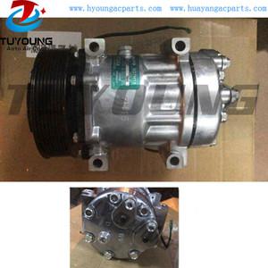 Sanden SD7H15 24V 8PK Universial Fahrzeug-Klimaanlagen-Kompressor