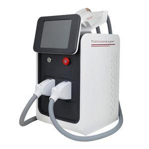 Multifunction Portable IPL+RF+Nd Yag Laser Machine Multi-functional Beauty Instrument Dual-stage RF Technology
