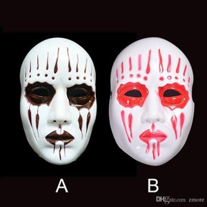 Slipknot Mask Cosplay Horror Party Masks Full Face PVC Mask Movie Theme Slipknot Joey Scary Ghost Mardi Gras Costume