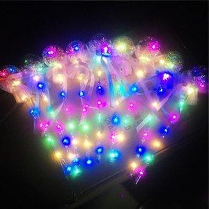 LED Flash Ball Magia Wand Glow Stick Star Ball Pequena Fada Decoração Christmas Christmas Decoração Crianças Festa de Aniversário Dia dos Namorados SU