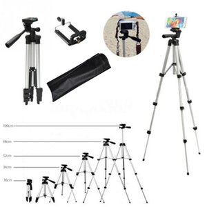 Tripod Professional Portable Travel Aluminium Camera Thripodpan Head для The SLR DSLR Digital Camera Strivods для телефона LJ200907