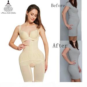 Shapewear body shaper Women butt lifter waist trainer Corrective Slimming underwear bodysuit Sheath Belly faja girdle belts