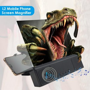 12 inch L2 Mobile Phone Screen Magnifier 3D 3.0 Cell Phone Screen Video Stand Bracket Holder