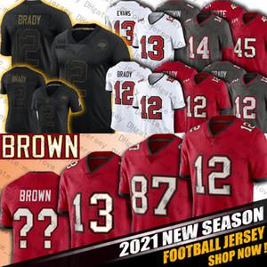 84 17 Antonio Brown 12 Tom Brady Jersey Mike Evans Rob Gronkowski jerseys TampaBahíabucanerosJersey Devin White Godwin