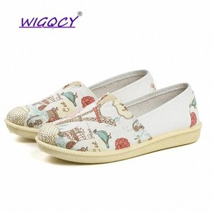 Canvas women shoes 2019 spring and autumn new ladies shoes grassland princess cloth wear-resistant breathable soft #f66p