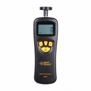 Цифровой дисплей Измерение High Precision Laser тахометр с Тип контакта Shimar AR-925 Тахометр AjWu #