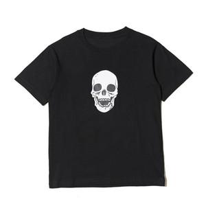 19SS crânes hommes t-shirt haute qualité hip hop manches courtes femmes femmes styliste t-shirt