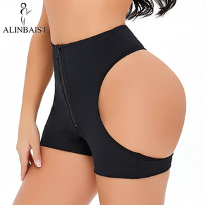 Sexy Butt Lifter управления Трусы Бесшовные Booty Push Up Нижнее белье Big Ass Подними Panty похудения Shapewear тела формирователь Трусы