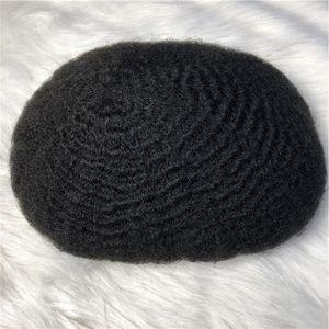 Моно шелковая база женщин волос топпер Topper Topee для чернокожих человеческих волос для замены волос