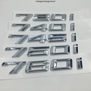 730i 740i 745i 750i 760i Capacidad de descarga de automóvil Capacidad de descarga de letras Emblemas Pegatinas traseras traseras para BMW 7 Series