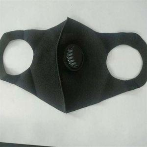 Single Valve Anti-Fog-Staubmaske Schwarz Waschbar Wiederverwendbare Free And Mask Sicherheit Versand Single Valve Anti-Fog-Staubmaske Schwarz waschbar wieder FMMP