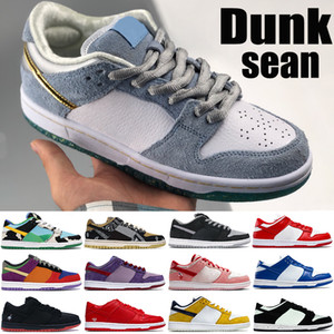 New Dunk Men Baloncesto Zapatos de baloncesto Sean Sombra Chunky Dunky Travis Scotts Kentucky Laser Láser Orange Plum Sneakers Sneakers Women Trainers US 5.5-11