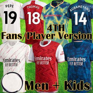 2020 2021 Red THOMAS Human Race футбола трикотажных изделий 20 21 Арсена вентиляторы игрок версия прочь рубашки топы наборы Camiseta де Майо Futbol оборудование