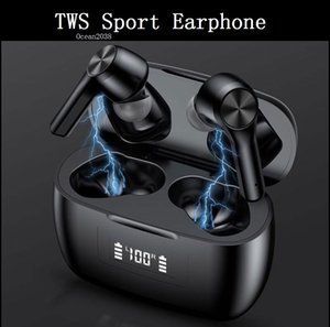 TWS Wireless Headphone Bluetooth 5.0 Earphone Waterproof Sport Stereo HIFI Earbuds LED Power Display Gaming Headset