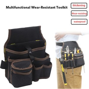 Multifunctional Tools Bag Large Capacity Waist Pockets Hanging Bag Tool Case Apron Belt Electrician Carrying Pouch Oganizer