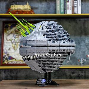 Juguetes de Star Wars UCS Estrella de la Muerte II Compatible 10143 MOC Building Blocks arma definitiva Super Laser juguetes para los niños Niños regalo del niño 1008