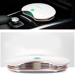 New Portable Car Air Purifier Negative Ion Air Cleaner Ionizer with Filter Remove PM2.5 Formaldehyde for Home Office Desktop