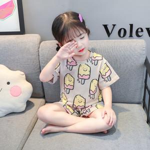 Kids cotton pyjamas kids loungewear childrens pajamas -Y pajama baby baby night suit toddler sleepwear tiktok clothes