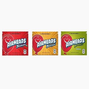 408mg Airheads Xtremes Bags Airheads Edible Packaging Amell Proof Bags Warheads Skittles Edibles Empty Mylar Zipper Bags Wholesale