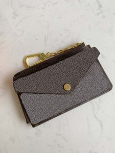 Держатели Recto Verso Cards Высококачественные мужские кошелек с монетой монеты Кошелек Новый дизайнер женщины маленький кошелек