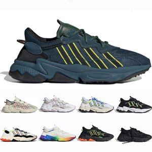 Hot Sale ozweego men womens casual shoes Triple Black Wine Red Solar Yellow Red Solar Neon Green Halloween Tones Era Pack Trainers Sneakers