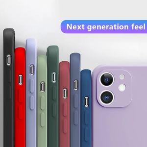 Für iPhone 12 11 Pro Max Case 2021 Luxury New TPU Soft Case für iPhone 7 8 6s plus SE2020 x XR xs MAX-Telefonrückdeckel mit optionalen Farben