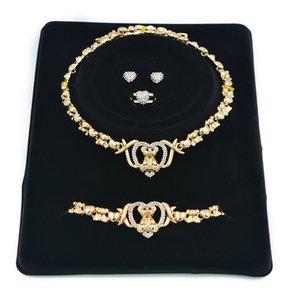 2021 NEW 14K Gold For Jewelry Wedding Bracelet Necklace Womens Womens Women Earrings Fashion Braclets Set Cpvfk