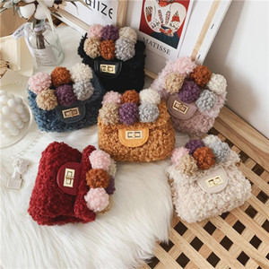 Autumn Winter 2020 New Kids Purses and Handbags Mini Crossbody Bag Cute Baby Girls Small Coin Wallet Kid Pures and Bags Gift