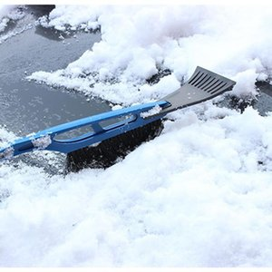 Chunmu 2 In 1 Ice Scraper With Brush For Car Windshield Snow Remove Frost Broom Cleaner Car Accessories H jllXKK
