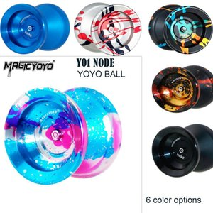 Magicyoyo Y01 Nodo Yoyo Ball Ball Metal Metal Yoyo 10-Ball Cuscinetti con corda Yoyo Giocattoli regalo per bambini bambini 1020