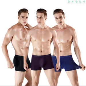Hip Underpants Mens Modal Breathable Boxers Underwears Designer Sexy Fashion Diary Underwear Males Solid Color Lift