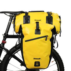 Rhinowal in pieno impermeabilizzano Deposito biciclette Borse Multi borsa da viaggio della bici della strada posteriore Rack Tronco Ciclismo Scopare bagagli Pannier 20L 27L C1011
