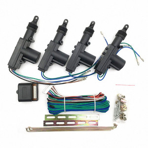 Universal Heavy Duty Power Automobile Central Door Lock 12V Keyless Entry System High Sensitive Controller car 2g71#