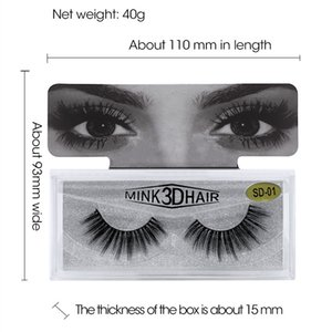 High Quality 3D Mink Eyelashes Extensions 3D Mink Lashes Soft Natural Thick Fake Eyelash Wholesale 3D Eye Lashes Mink False Eyelash New 2021
